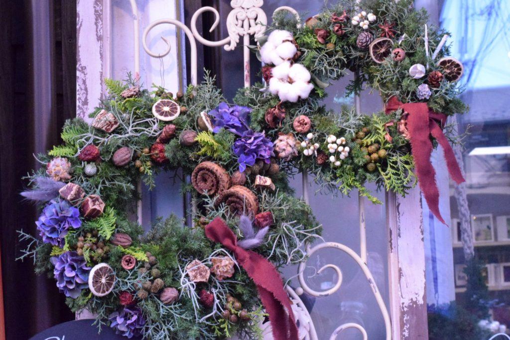 2020年季節限定1day東京・足立区・北千住【christmas Wreathワークショップ】のご案内です
