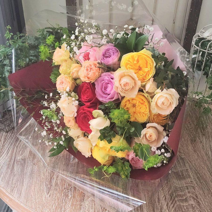 退職お祝のお花束