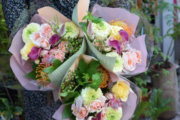 お洒落な花束